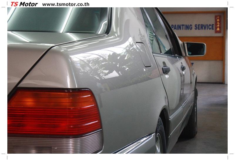IMG 6360 เคลมประกัน พ่นสีรอบคัน Mercedes S CLASS จากลูกค้าเจ้าเก่า โดยอู่สีรถ ที เอส มอเตอร์