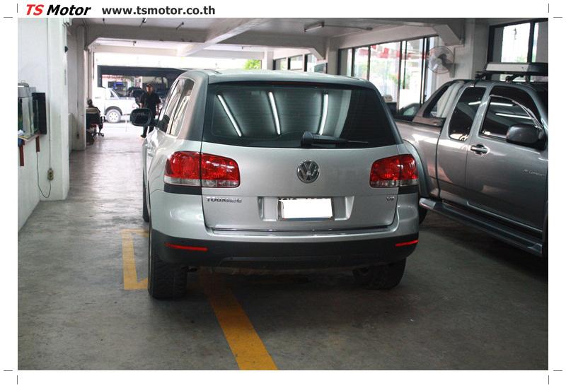 IMG 6639 ศูนย์ทำสีรถ VW TOUAREG เบิกอะไหล่นอก พร้อมพ่นสี