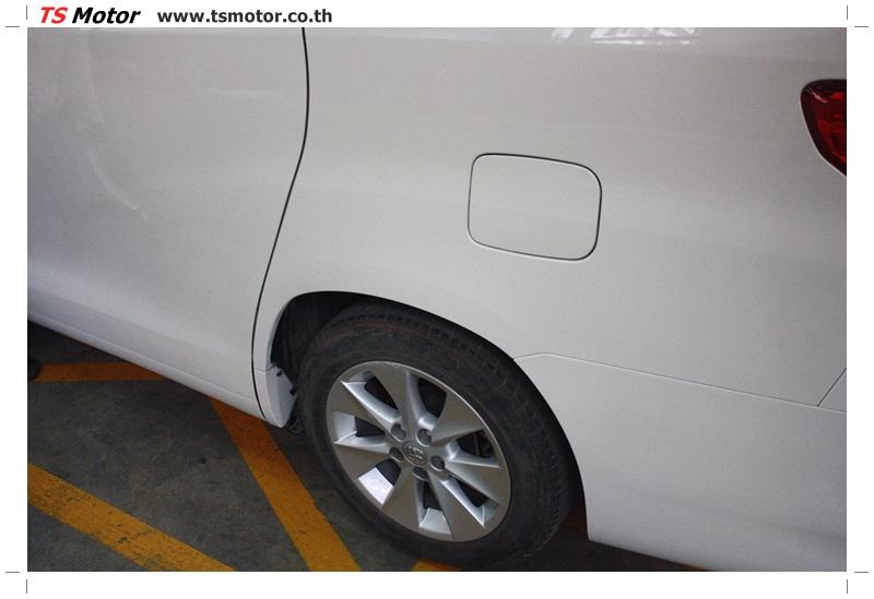 IMG 6667 อู่สี ผลงานซ่อมสี Toyota Alphard แถบซ้าย จาก TS Motor