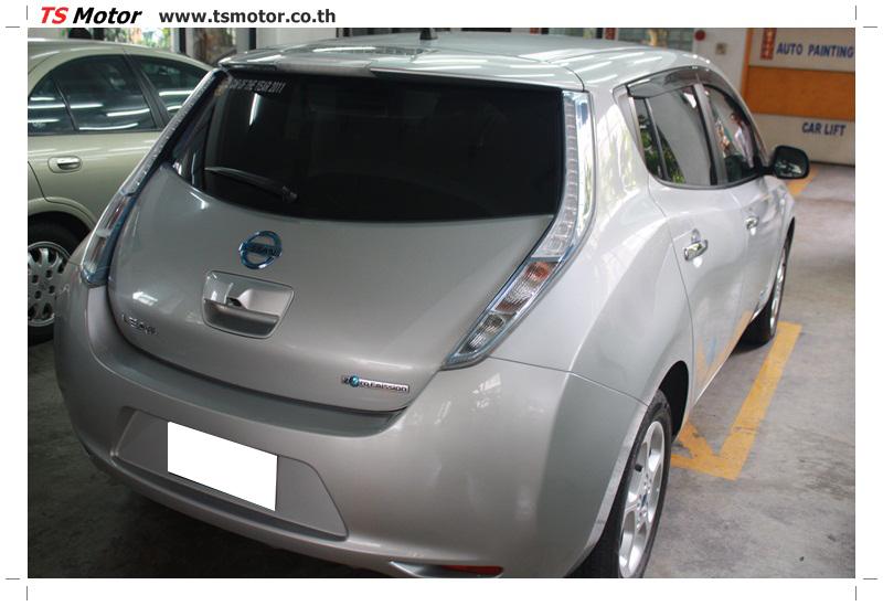IMG 6790 งานซ่อมสีตัวถัง NISSAN LEAF รถที่สุดๆกับการขับเคลื่อนพลังไฟฟ้า
