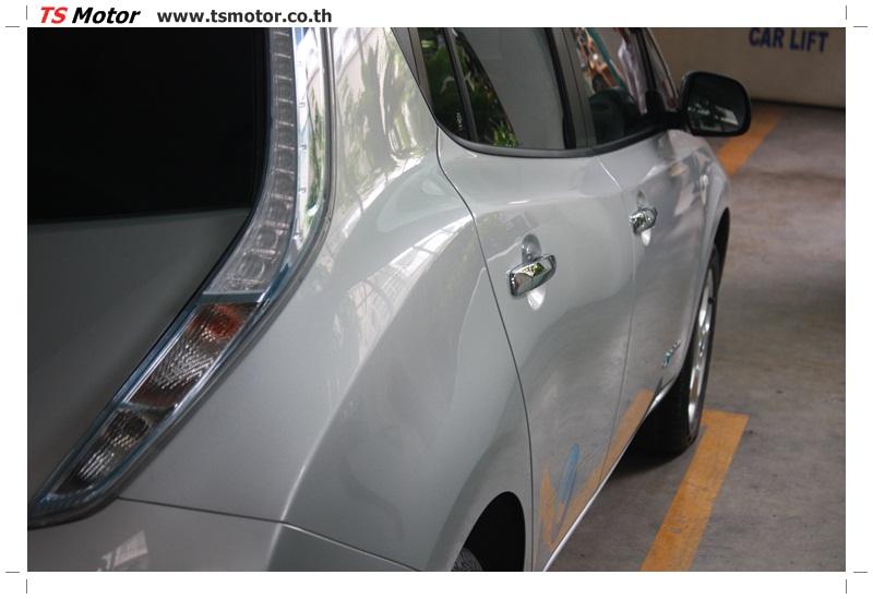 IMG 6791 งานซ่อมสีตัวถัง NISSAN LEAF รถที่สุดๆกับการขับเคลื่อนพลังไฟฟ้า