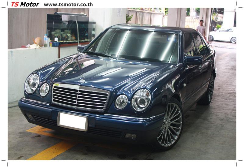 IMG 6838 อู่สีรถ งานซ่อมสี Mercedes Benz W210 Midnight Blue