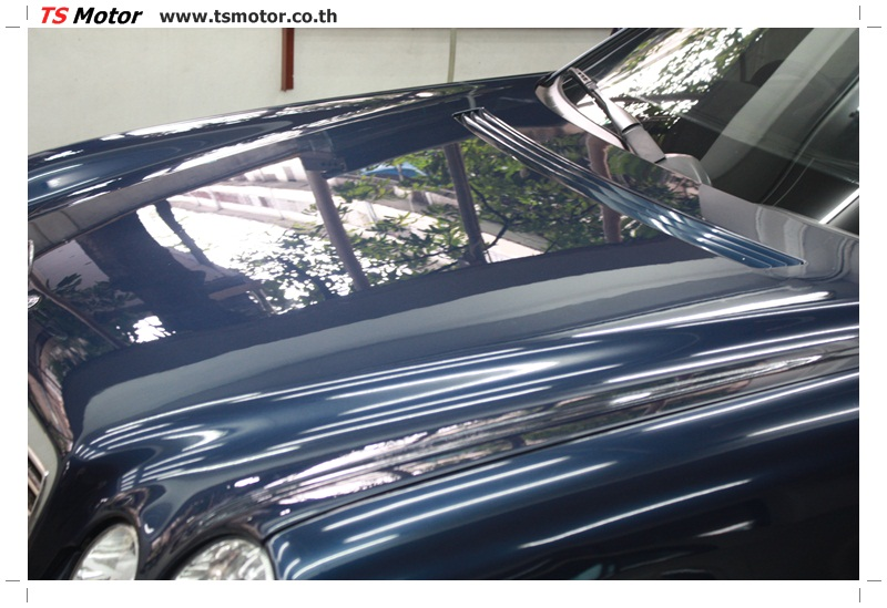 IMG 6839 อู่สีรถ งานซ่อมสี Mercedes Benz W210 Midnight Blue