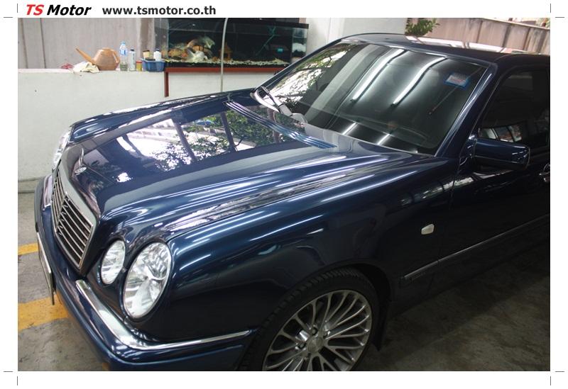 IMG 6840 อู่สีรถ งานซ่อมสี Mercedes Benz W210 Midnight Blue