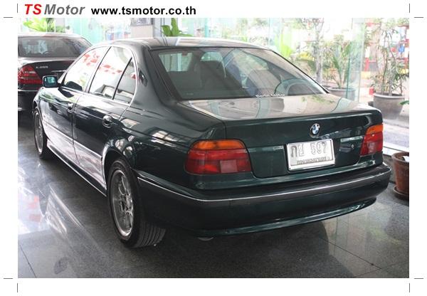 IMG 95291 BMW ซีรีย์ 5 ซ่อมสีกันชน และฝากระโปรงหน้า