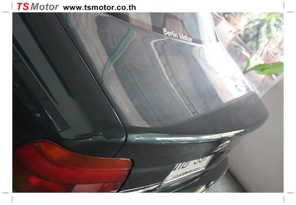 IMG 95301 BMW ซีรีย์ 5 ซ่อมสีกันชน และฝากระโปรงหน้า