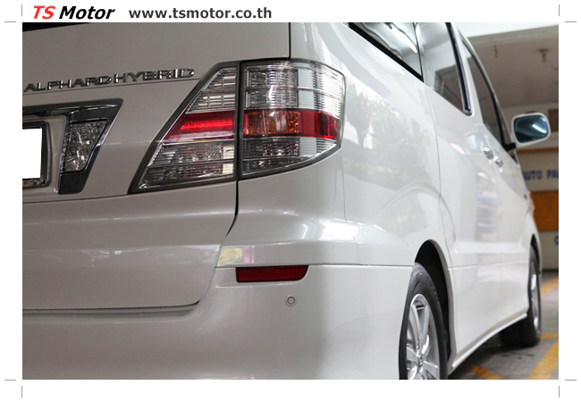 IMG 9534 อู่สี งานพ่นสีรอบคัน Toyota Alphard สีขาวมุก  เนียนๆ จาก TS Motor