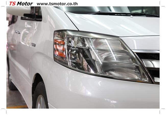 IMG 9535 อู่สี งานพ่นสีรอบคัน Toyota Alphard สีขาวมุก  เนียนๆ จาก TS Motor