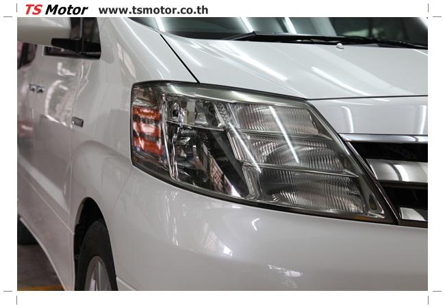 IMG 9536 อู่สี งานพ่นสีรอบคัน Toyota Alphard สีขาวมุก  เนียนๆ จาก TS Motor