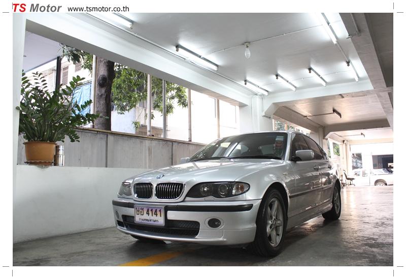 IMG 9712 งานซ่อม BMW ซีรีย์ 3 E46 สี บรอนซ์ ซ่อมสีรอบคัน
